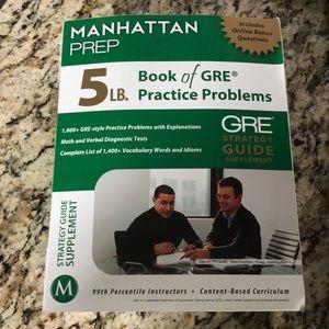 Manhattan Prep GRE Book